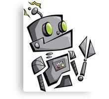 Bantam Robot Canvas Print