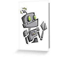 Bantam Robot Greeting Card
