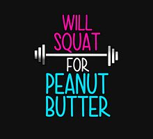 Will Squat For Peanut Butter Women's Fitted Scoop T-Shirt