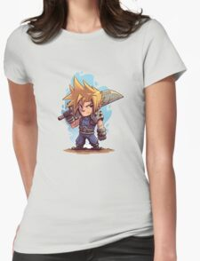 Cloud FFVII Chibi Womens Fitted T-Shirt