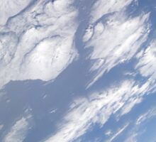 A blue and white part of Earth and the blackness of space viewed from the Earth-orbiting space shuttle Atlantis. Sticker