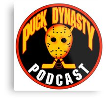 Puck Dynasty Podcast - 90's Vancouver Metal Print