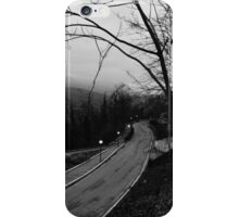 Follow the road iPhone Case/Skin
