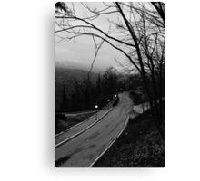 Follow the road Canvas Print
