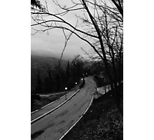 Follow the road Photographic Print