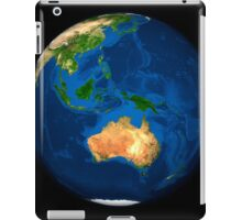 View of the full Earth showing Indonesia, Oceania, and the continent of Australia. iPad Case/Skin