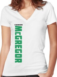 Conor McGregor (check artist notes for limited edition link)  Women's Fitted V-Neck T-Shirt