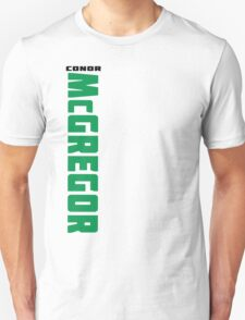 Conor McGregor Green and Black - Front T-Shirt