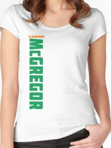 Conor McGregor Green (check artist notes for limited edition link)  Women's Fitted Scoop T-Shirt