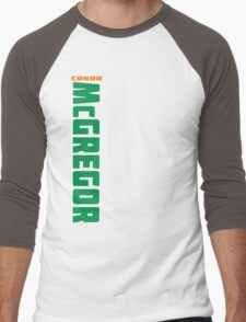 Conor McGregor Green (check artist notes for limited edition link)  Men's Baseball ¾ T-Shirt