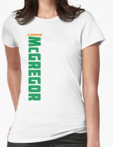 Conor McGregor Green (check artist notes for limited edition link)  Womens Fitted T-Shirt