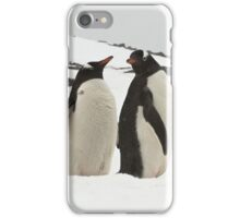 "Gentoo Penguins ~ ""Life in the Freezer"" iPhone Case/Skin"