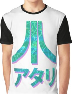Vaporwave Atari Graphic T-Shirt