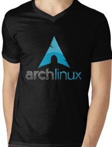 Arch Linux Mens V-Neck T-Shirt