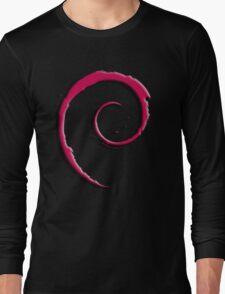 Debian Logo Long Sleeve T-Shirt
