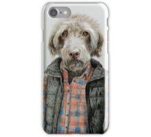 dog in shirt iPhone Case/Skin