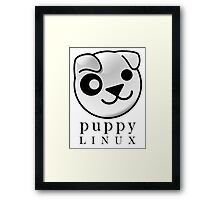 puppy LINUX Framed Print