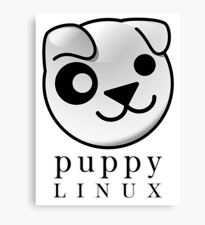 puppy LINUX Canvas Print