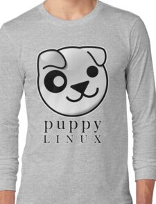 puppy LINUX Long Sleeve T-Shirt