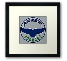 Puck Dynasty Podcast - The Whale Framed Print