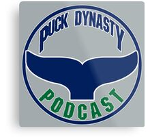 Puck Dynasty Podcast - The Whale Metal Print