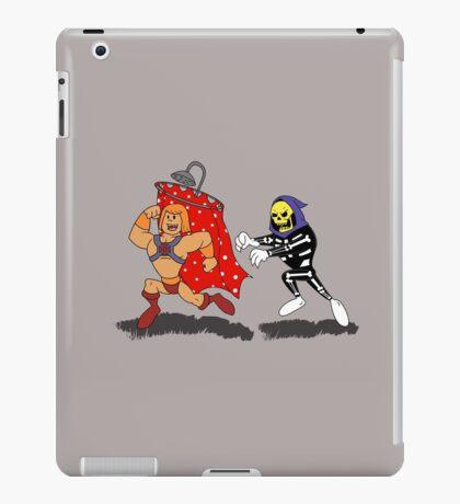 Skeleton Chases Shower iPad Case/Skin