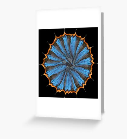 Wing mill - butterfly wings 5 Greeting Card