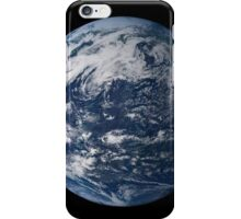 Full Earth centered over the Pacific Ocean. iPhone Case/Skin