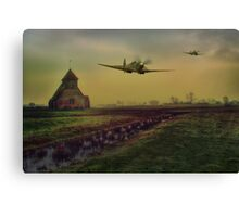 Low At Fairfield Canvas Print