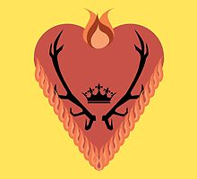 Game of Thrones - House Baratheon of Dragonstone by Elesbed