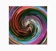 Modern Colorful Swirl Abstract Art #3 Unisex T-Shirt