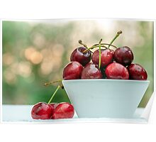 A Dish of Cherries Poster