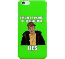 Scumbag Finn (Star Wars) iPhone Case/Skin