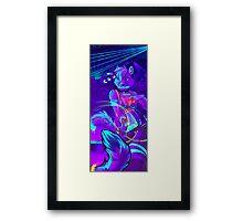 Blacklight Framed Print
