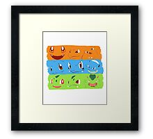 Hard Choice - Pokemon Framed Print