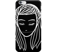 sleep girl iPhone Case/Skin