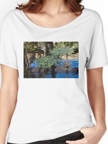 Unusual Waterlilies - a Charming Water Garden in Hawaii Women's Relaxed Fit T-Shirt