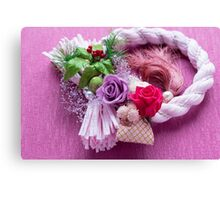 Japan style of roses Canvas Print