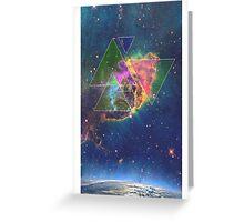 Triangular Universe Greeting Card