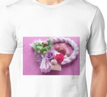 Japan style of roses Unisex T-Shirt