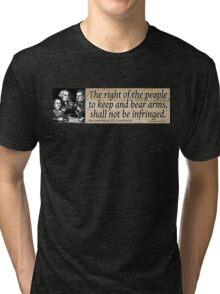 The 2nd Amendment Tri-blend T-Shirt