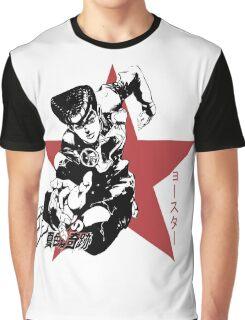 Josuke Higashikata - Jojo's Bizarre Adventure Graphic T-Shirt