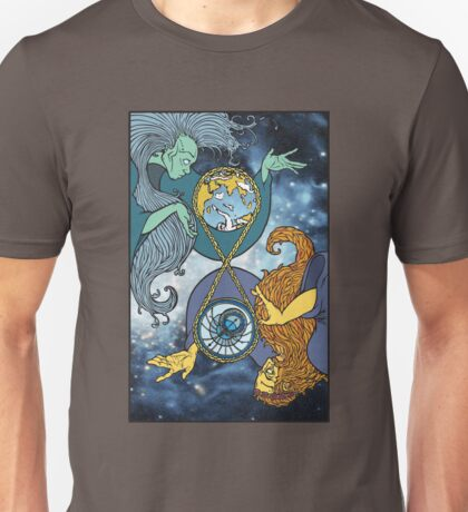 Mother Earth and Father Time Unisex T-Shirt