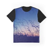Good Night Grass Graphic T-Shirt