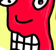Red head dude Sticker
