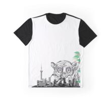 monkey in the city Graphic T-Shirt