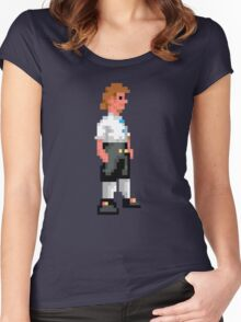 I wanna be a pirate! Women's Fitted Scoop T-Shirt