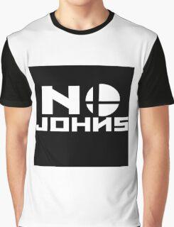 No Johns (Smash Bros) Graphic T-Shirt