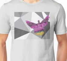 Colorful Polygonal Pigeon 2 Unisex T-Shirt