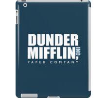 Dunder Miffllin - Blue iPad Case/Skin